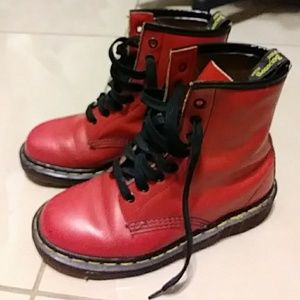 Dr. Martens 1460 RED 8-eye Boots UK 4